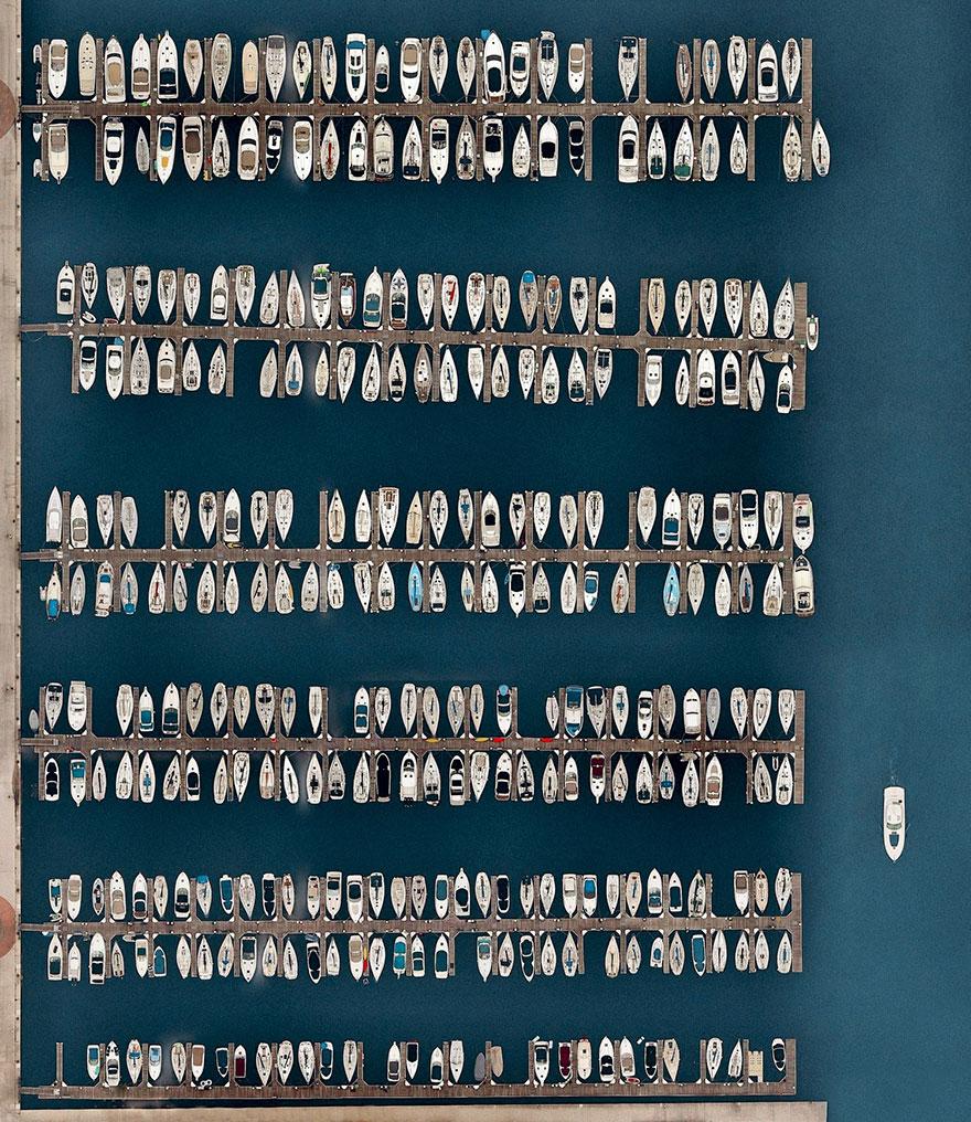 Dusable Harbor, Chicago, Illinois, USA