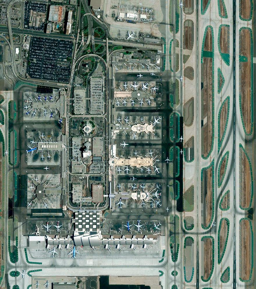 Los Angeles International Airport, Los Angeles, California, USA
