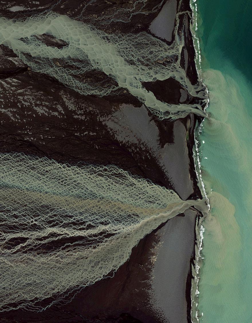 Glacial Melt, Skafta River, Iceland