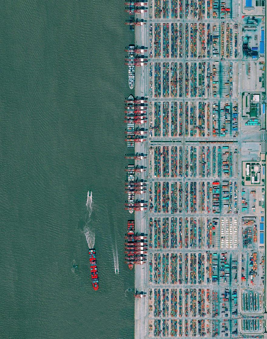 Port Of Shanghai, Shanghai, China