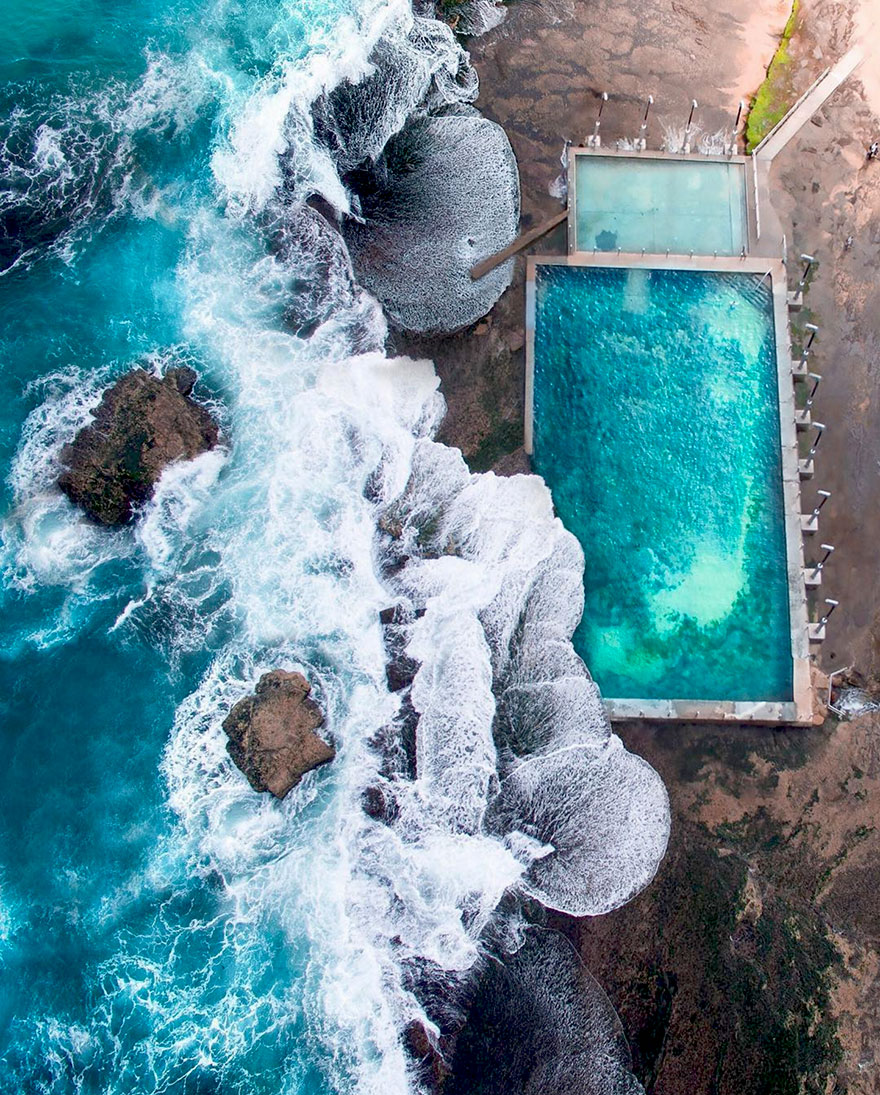 Beach Pool, Mona Vale, NSW, Australia