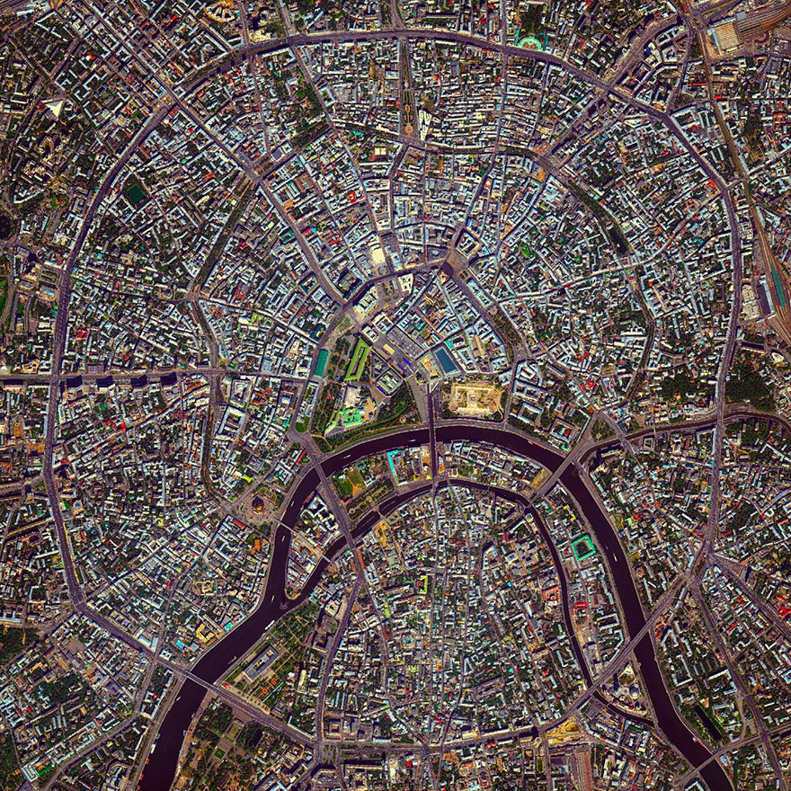 Moscow Rings, Moscow, Russia