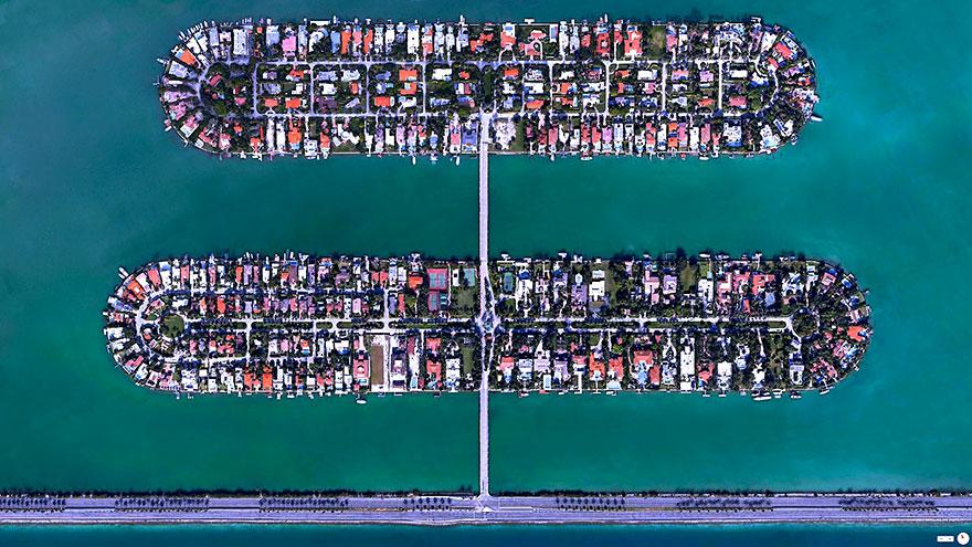 Palm Island, Miami Beach, Florida, USA
