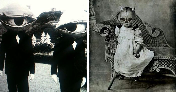 20  vintage halloween costumes that will scare you to death ...