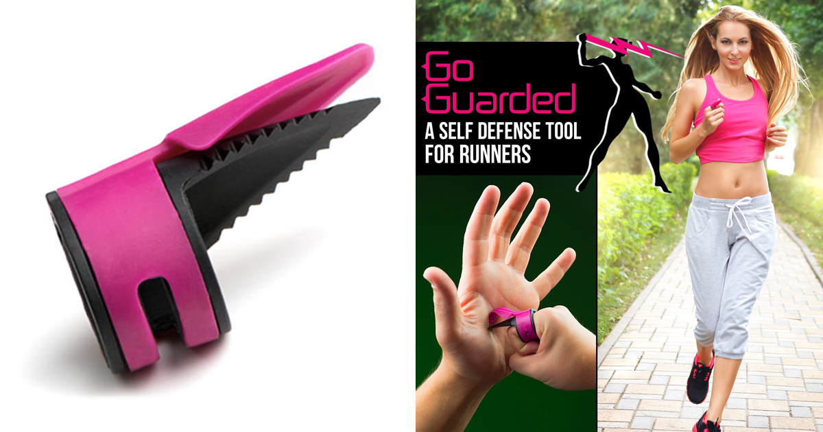 This Anti-Assault Ring Is Perfect For Women Who Jog Alone