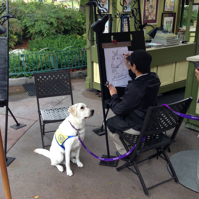 service-dog-caricature-disneyland-1