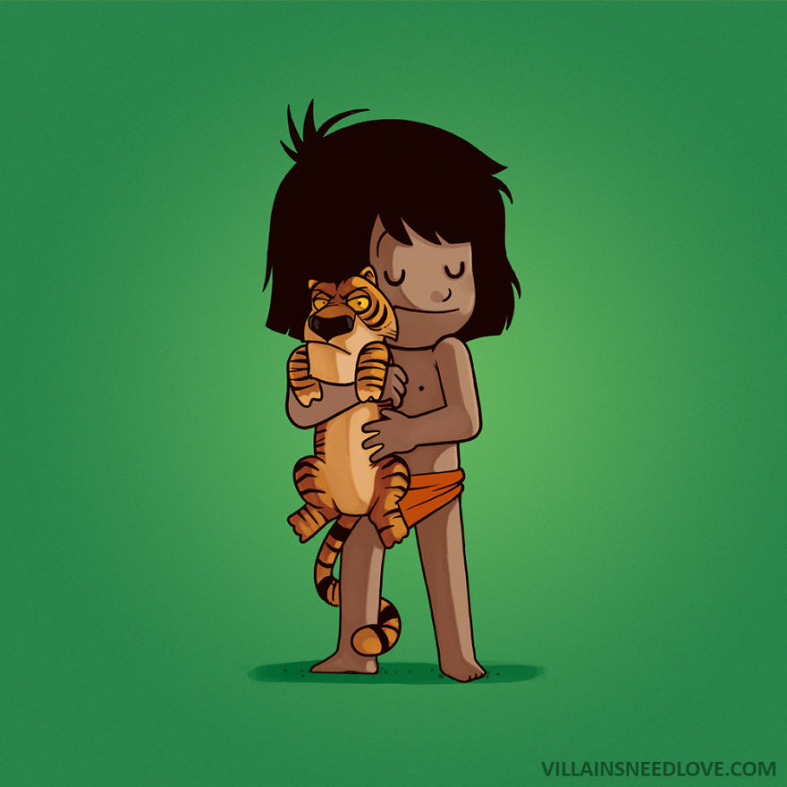 Mowgli & Shere Khan