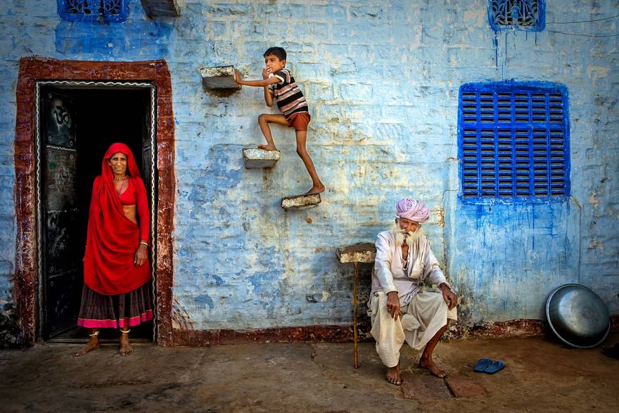Jodhpur Family, Rajasthan (Honorable Mention In Travel Category)