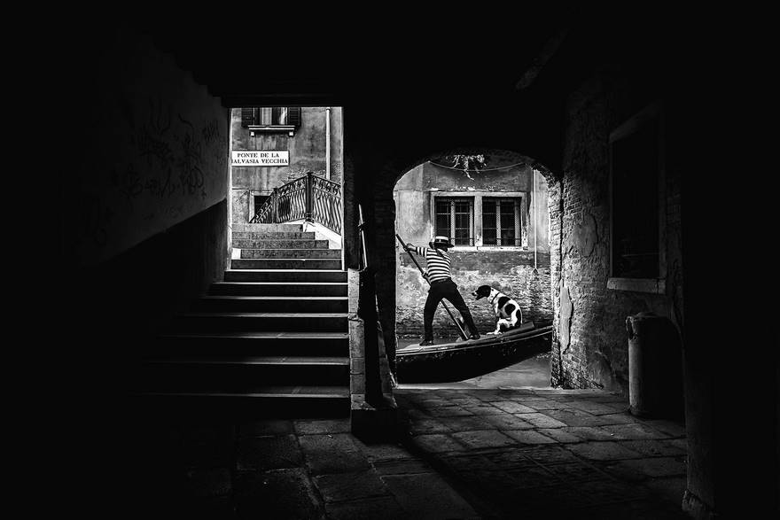 Gondoliere (Third Place In Open Monochrome Category)