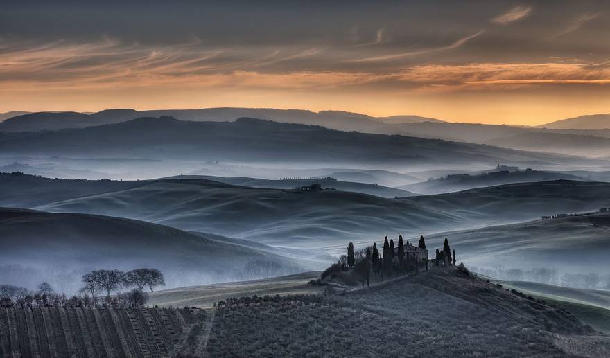 Tuscan Golden Sunrise (Remarkable Award In Open Color Category)