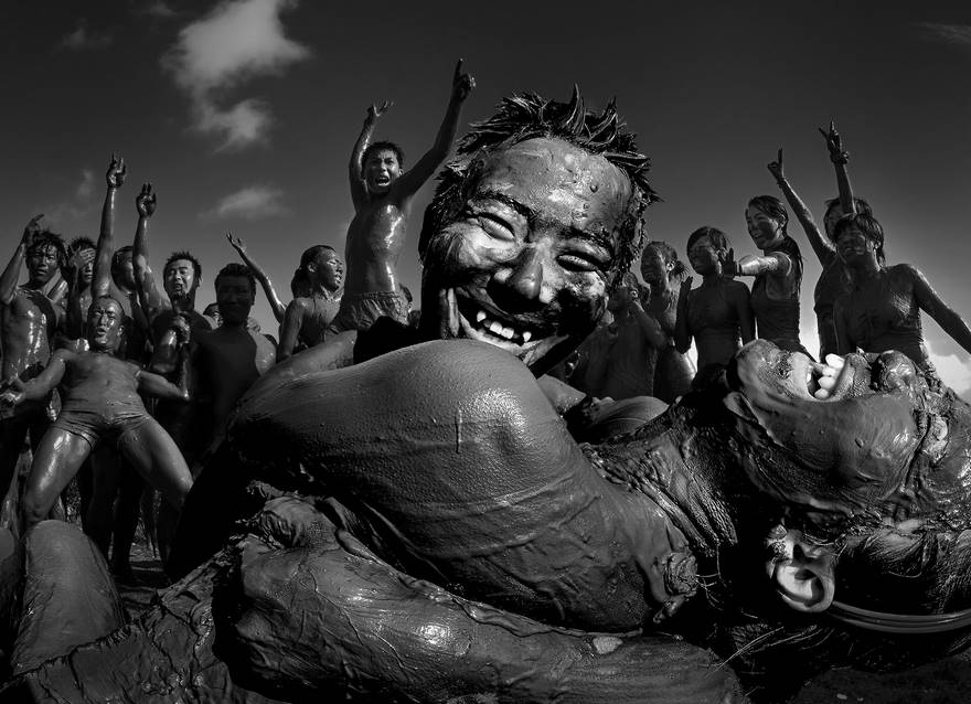 Crazy For Mud (Honorable Mention In People And Portrait Category)