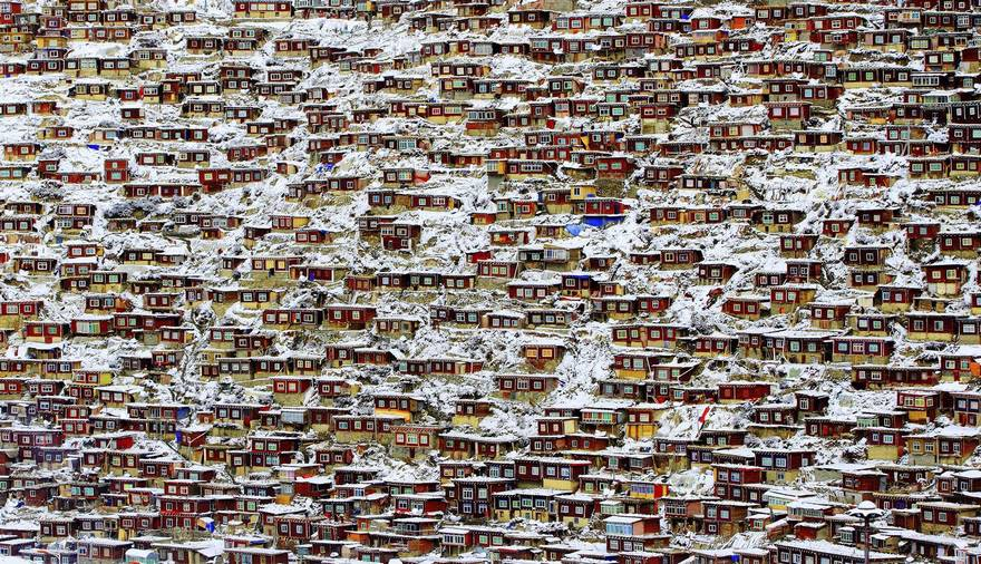 Living Place, Tibet (Honorable Mention In Architecture Category)