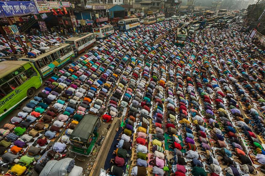 Prayers On The Road, Bangladesh (Honorable Mention In Travel Category)