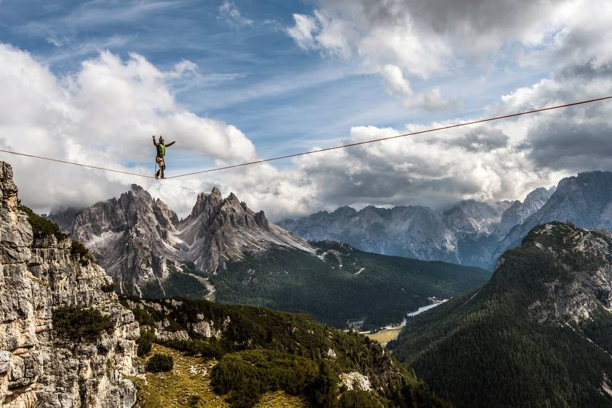Walking High In The Dolomites (Honorable Mention In Travel Category)