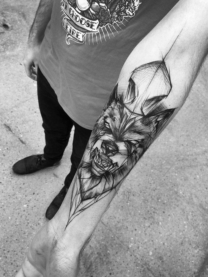 Sketch Tattoos