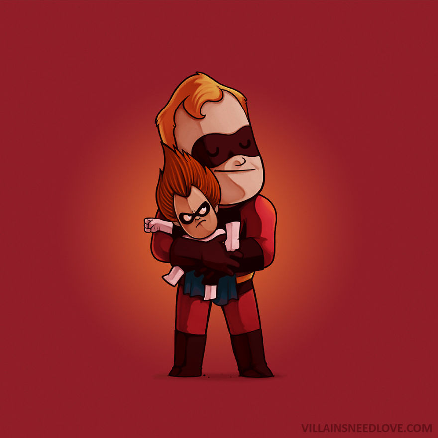 Syndrome & Mr Incredible