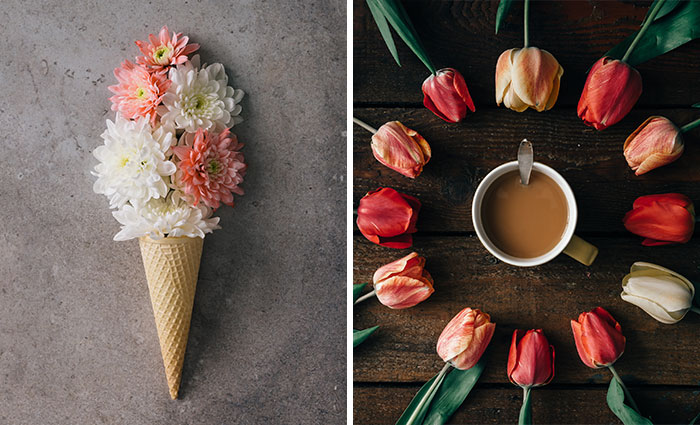 This Photographer Turns Flowers And Leaves Into Art