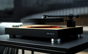 The World's First Levitating Turntable