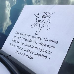 Anonymous Vigilante Is Fighting Asshole Drivers With This Genius Parking Note