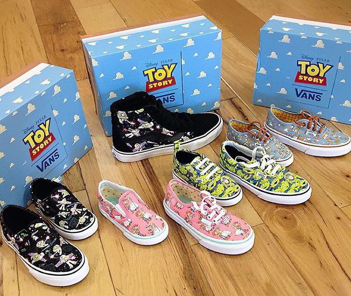 Vans And Pixar Are Releasing Toy Story Sneakers And They Re Pretty