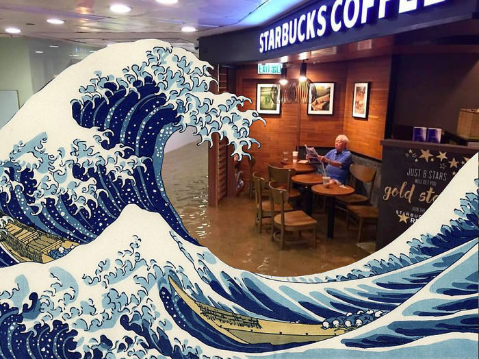 The Great Wave…