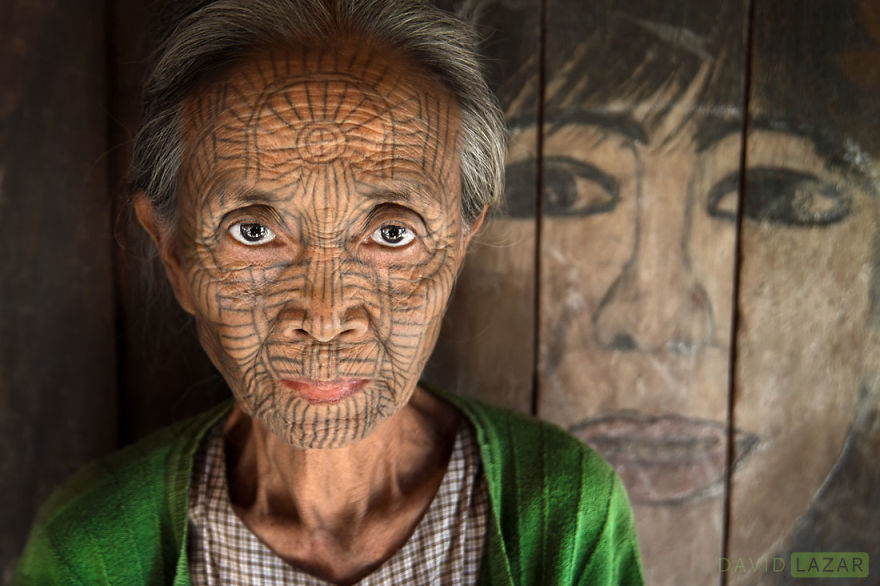 Chin Woman Near The Lost City Of Mrauk U