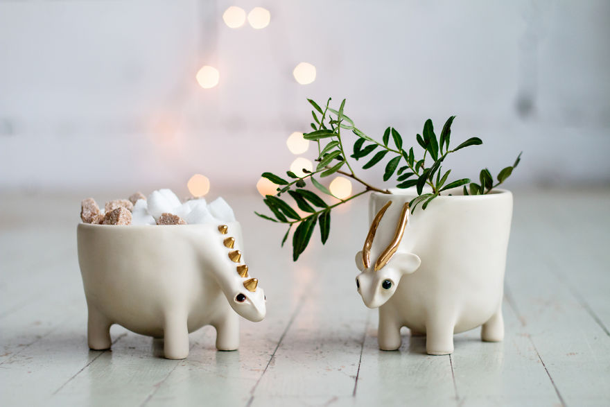 i make these magical ceramic animals bored panda