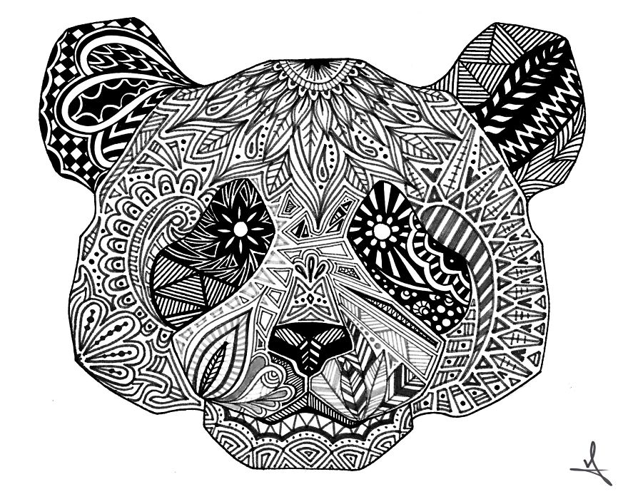 I Spend My Free Time Drawing Animals And Skulls
