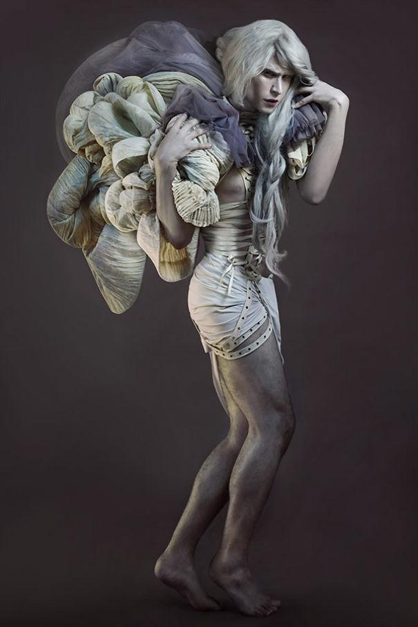 Artist Overcomes Body Dysmorphia Disorder Using Creative Photography.