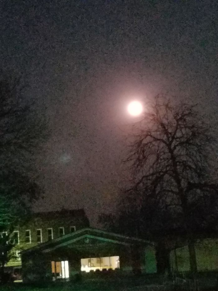 Moon Over Dr Office