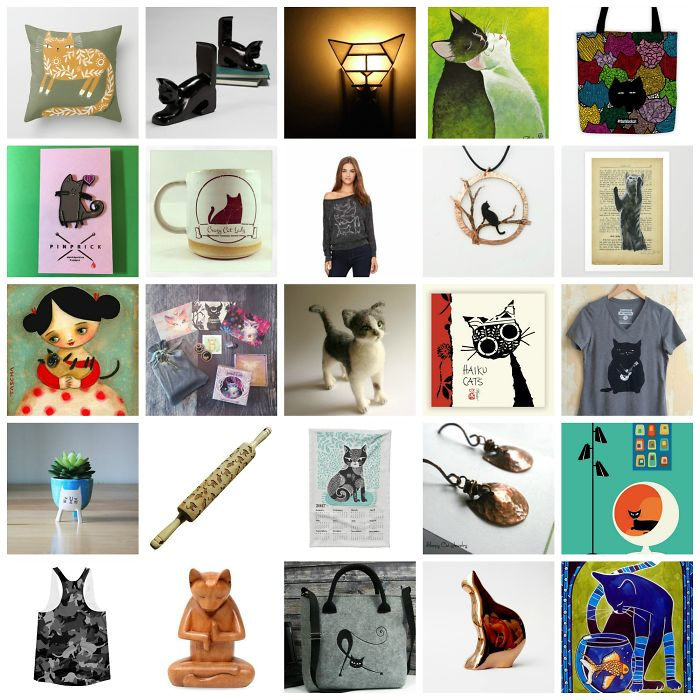35 Unique Holiday Gifts For Cat Lovers, Handmade By Indie Artists & Makers