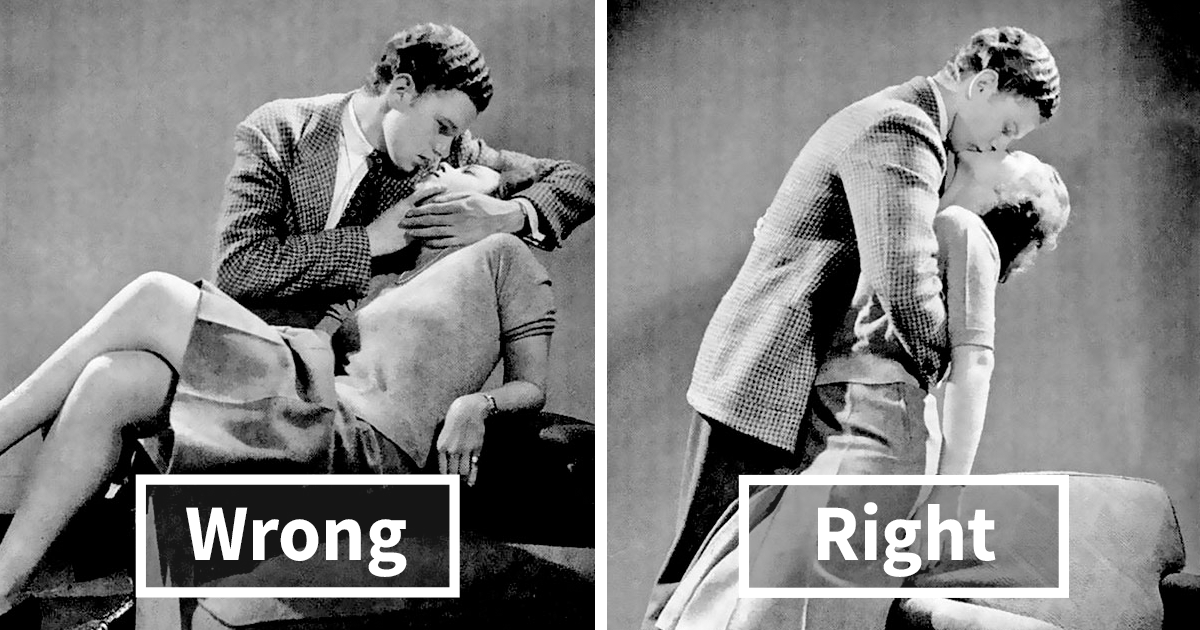 is kissing wrong
