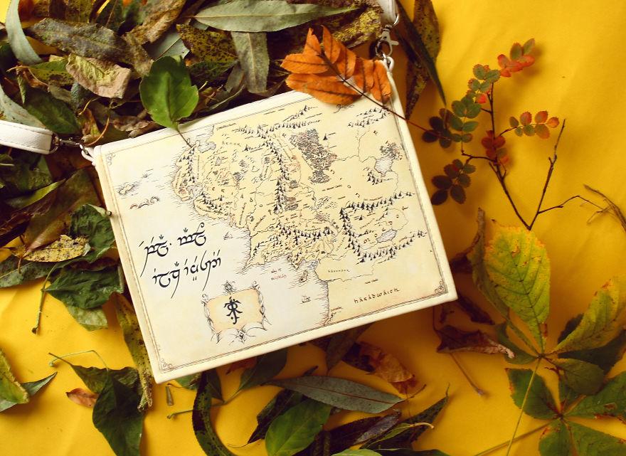El mapa de la Tierra Media