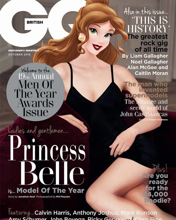 Belle As Bella Hadid