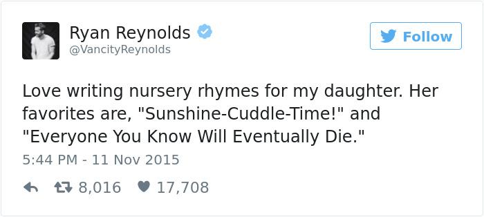 Funny Celebrity Parenting Tweets