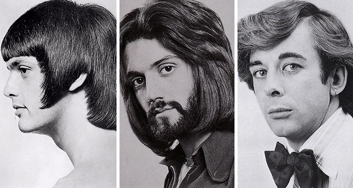 1960s And 1970s Were The Most Romantic Periods For Men's Hairstyles