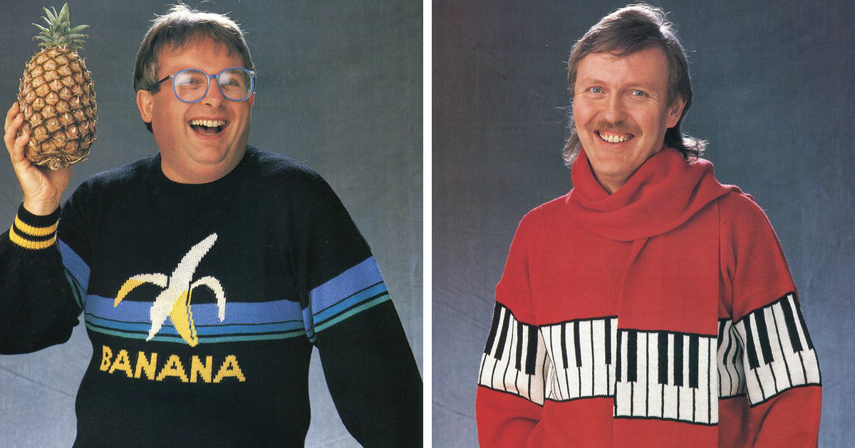 43 of the worst sweaters from 80s that should never come back