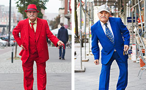 Every Morning, 86-Year-Old Tailor Goes To Work In Different Outfit, Photographer Spends 3 Years Capturing It