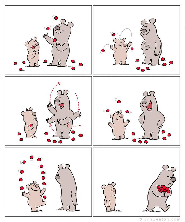 A Few Animal Cartoons By Jim Benton