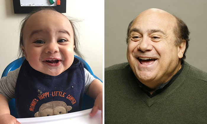 10+ Babies Who Look Like Celebrities