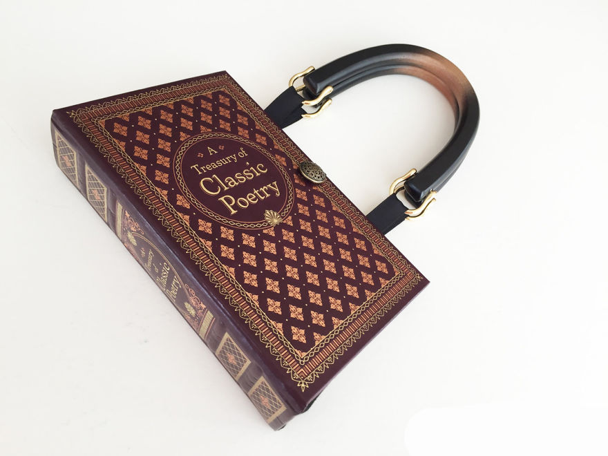Classic Poetry Book Purse