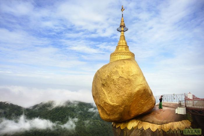The Golden Rock At Mt Kyaiktiyo