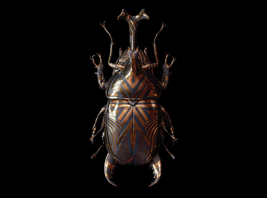 Engraved Entomology By Billelis