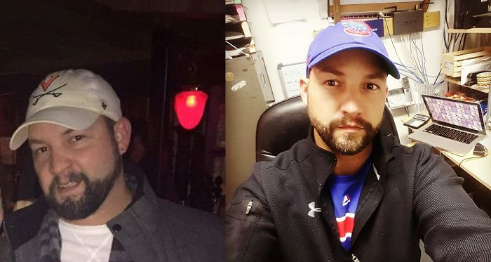 10 Months Down… Fat Face Mcgee. Go Cubs!