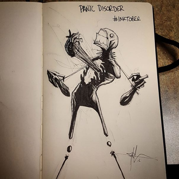 Shawn Coss Illustrated Mental Illness & Disorders