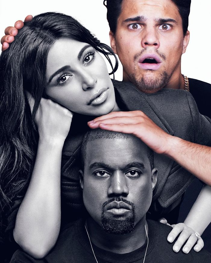 Dark Times For Kimye Since The Robbery In Paris... Help Bring Back Color In Their Lives, Be Kind!