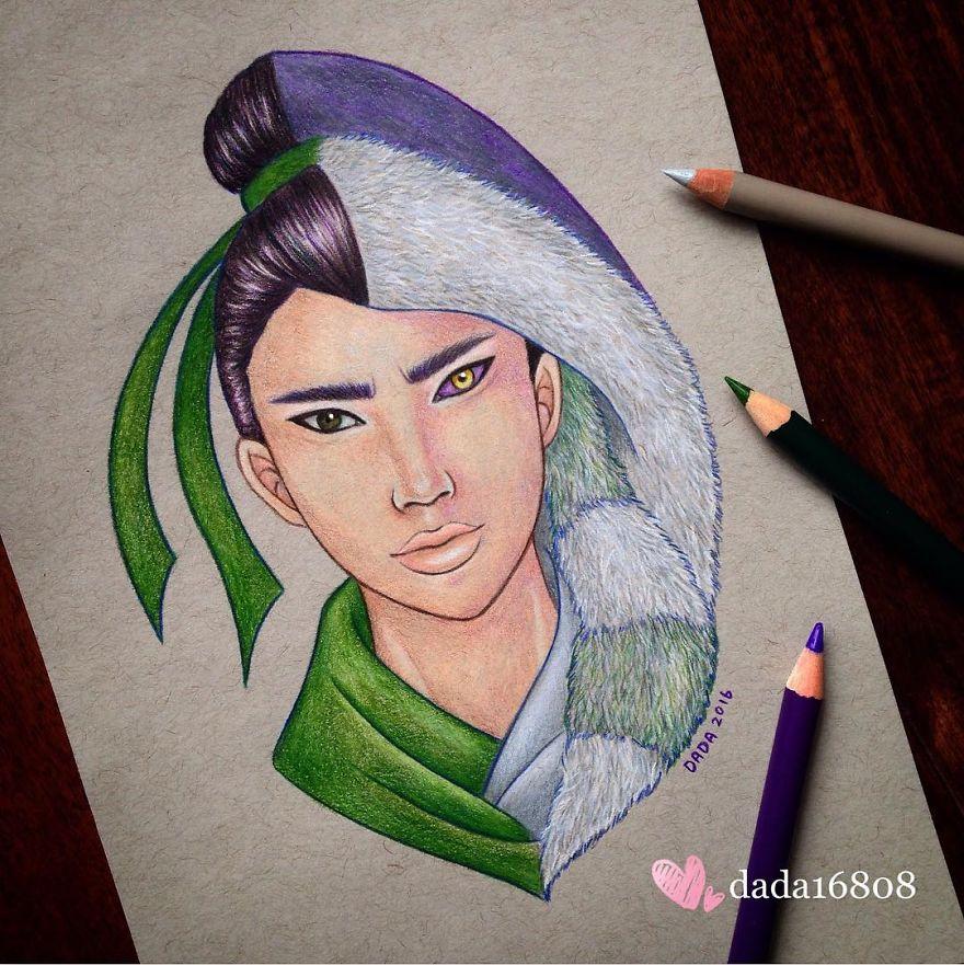 Mulan Vs Shan Yu