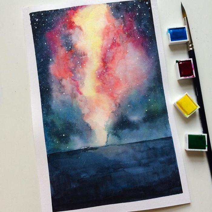 I Paint Imaginary Worlds...