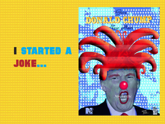 """""""I Started A Joke"""" …and It Came True #trump"""