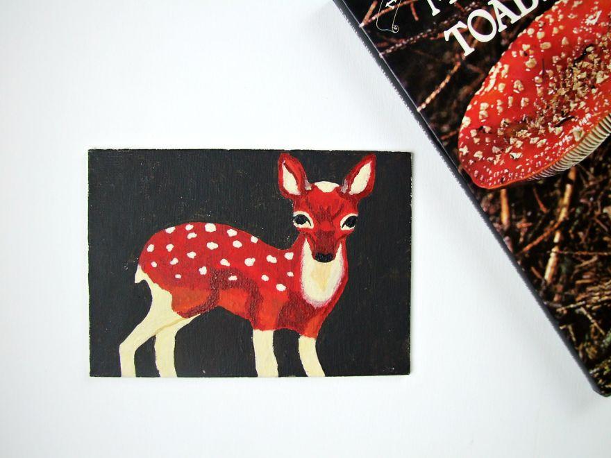 Toadstool Deer